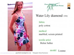 13 Water Lily diamond details