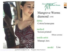 14 Mangrove Worms diamond details