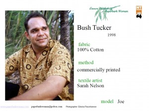 32 Bush Tucker shirt details