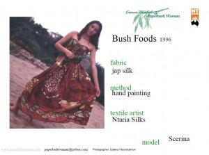 6 Bush Foods details